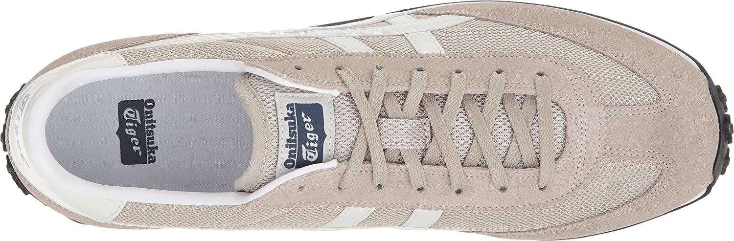 Onitsuka Tiger EDR 78 Classic Running Sneaker B0734K317Z 12 Women / 10.5 Men M US|Feather Grey/Vaporous Grey