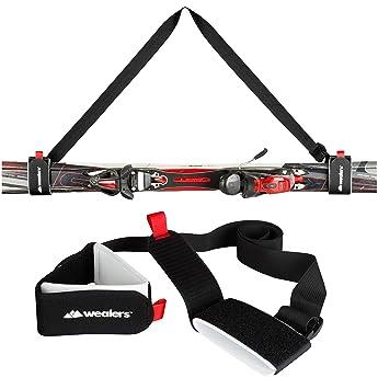 Amazon.com: Correas de esquí para correa de transporte de ...
