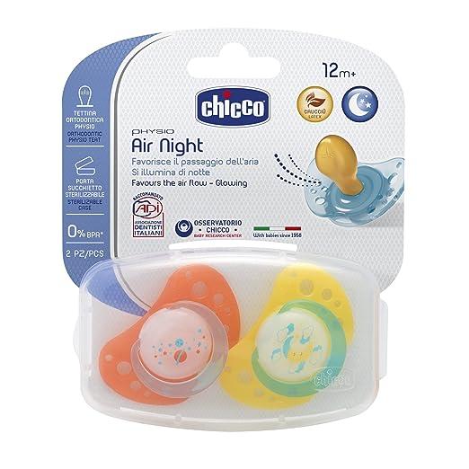 13 opinioni per Chicco 00075025410000 Air Lumi Succhietto, Caucciù, Multicolore, 12+ Mesi, 2