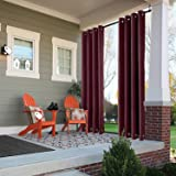 ChadMade Windproof Outdoor Curtain with Top