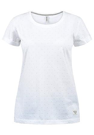 buy popular 26e08 a4d0b DesiresStarlet T-Shirt Maglietta A Maniche Corte con Stampa da Donna con  Girocollo Taschino in Cotone 100%