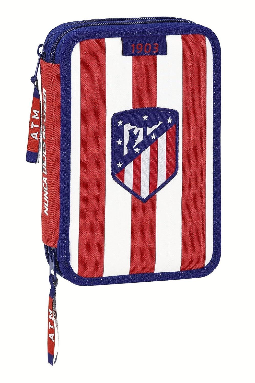 Atletico de Madrid- Plumier Doble pequeño 34 Piezas (SAFTA ...