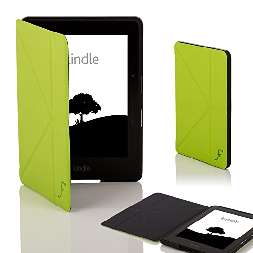 388 opinioni per Forefront Cases® Nuova Custodia Cover Origami per Nuovo Amazon Kindle Voyage