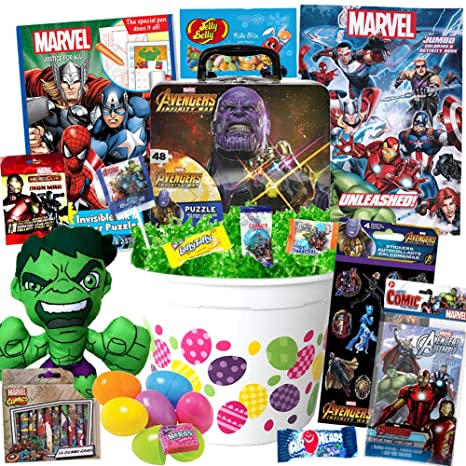 Amazon Com Avengers Endgame Easter Basket Stuffers 23 Piece Kit