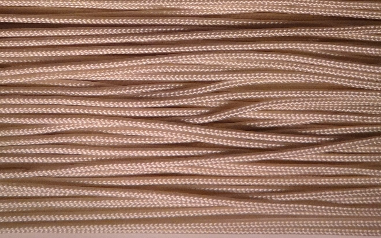 Amazing Drapery Hardware 100 YARDS: 1.8mm Professional Lift Cord for Blinds and Shades: TAN (LIGHT BROWN) by Amazing Drapery Hardware