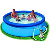 Intex - 28132NP - Piscine - Kit Piscinette Easy Set 3,66 X 0,76 M - Autostable - Épurateur À Cartouche 2M3/H Inclus