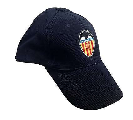 Valencia CF Gorra de béisbol, Azul Navy, One Size (Tamaño del ...