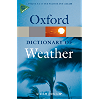 A Dictionary of Weather (Oxford Quick Reference)