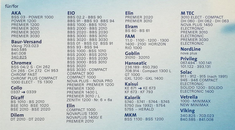 10 sacs pour aspirateur pour EIO PREMIER 1200 1300 1400 L 3010 L et ZENITH 1200
