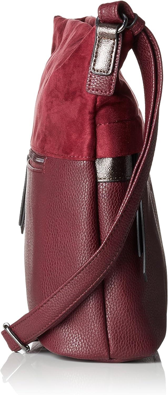 Gabor Shopper Damen Nele, 11x27x34.5 cm, Tasche Damen Rot (Wine)