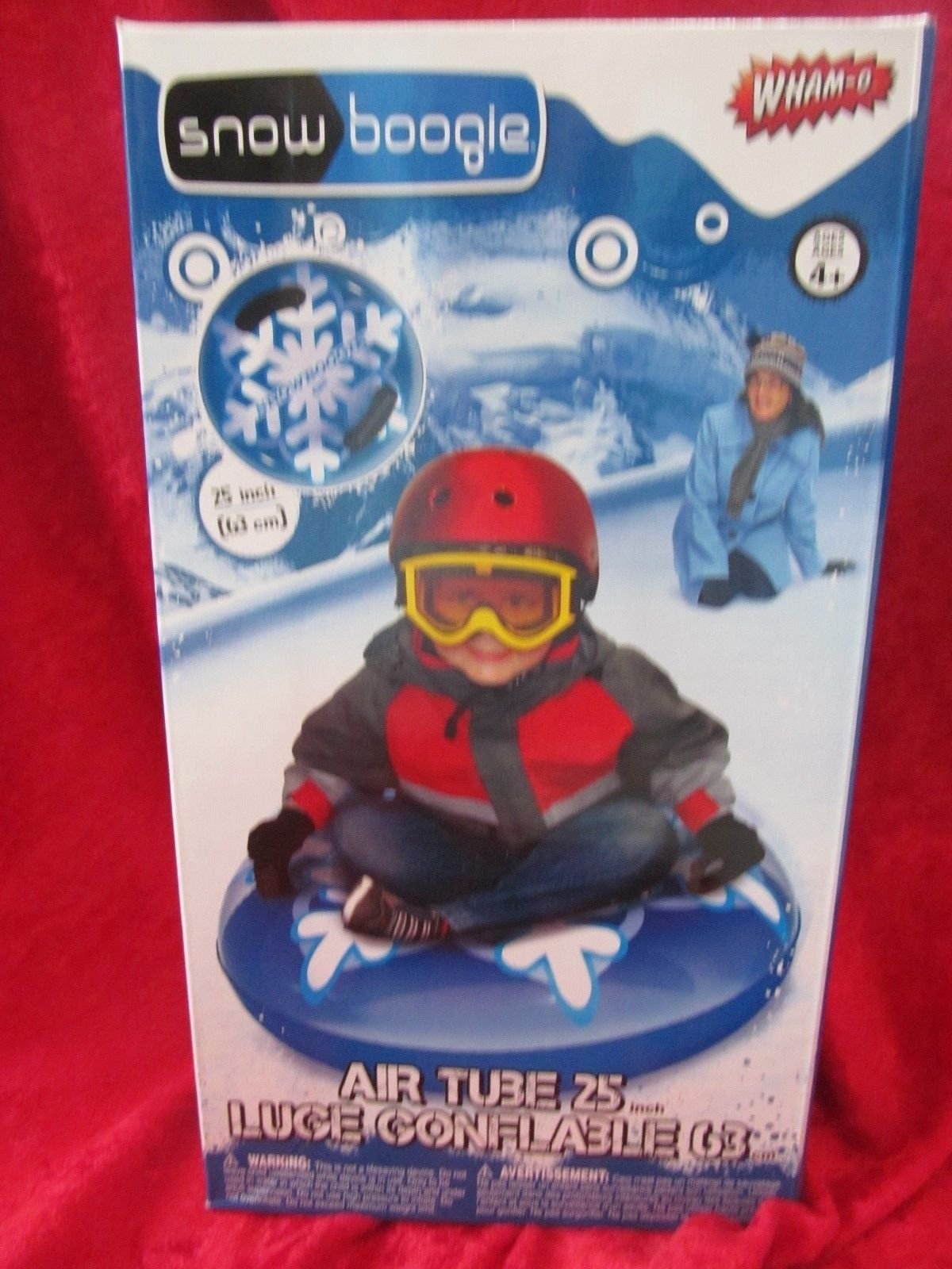 Kids Snow Tube Inflatable Sled 25''. Great for Winter Sledding and Tubing by Upscale Upgrades
