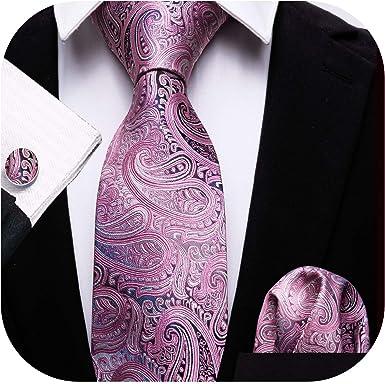 Blush Pink Paisley Classic Men/'s Tie Normal Tie Regular Tie Wedding Tie