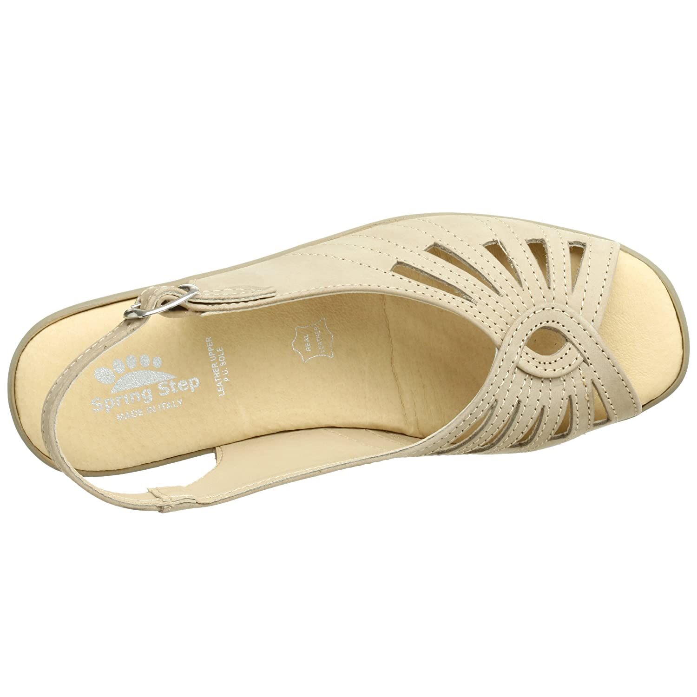 Spring Step Women's Gail Slingback Sandal B0012XMSAE 39 M EU / 8.5 B(M)|Beige