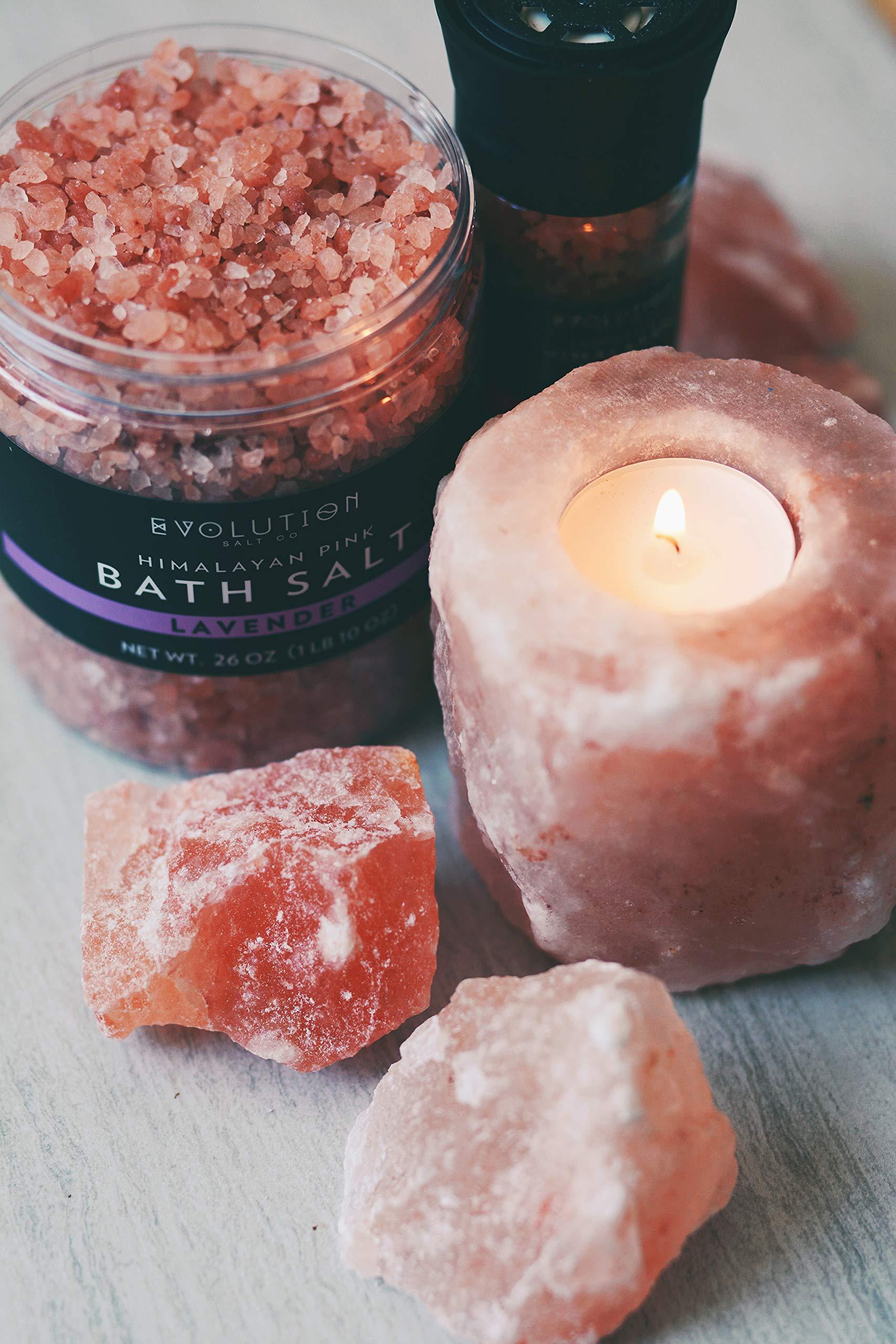 Bath Himalayan Salt Coarse Lavender