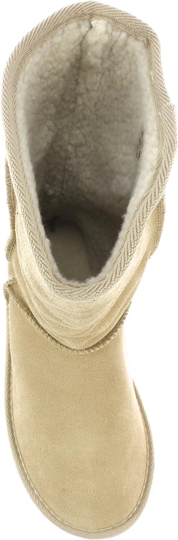 Frenzy Women's Nobuck Leather Boots Beige Arena