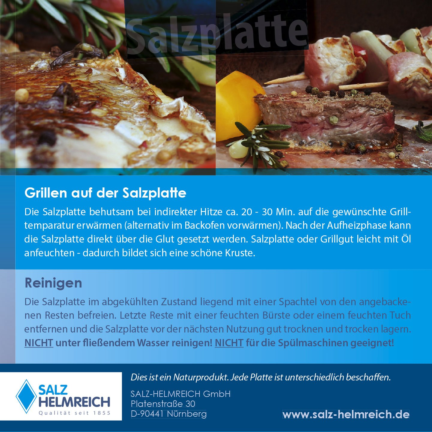 Backofen Reinigen Mit Salz 2 salzsteine bbq salzplatten zum grillen 4 4kg mehrfach