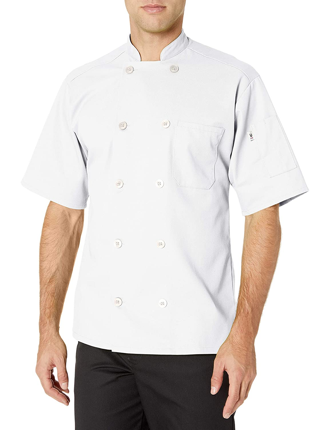 Uncommon Threads South Beach Chef Coat Short Sleeves