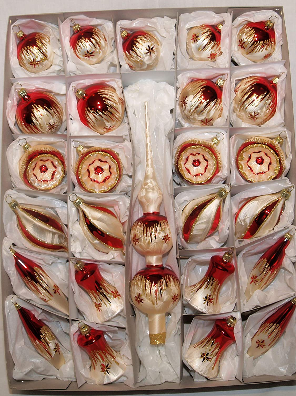 Jingle Bells Lauscha Spitzensortiment 46 teilig Tradition