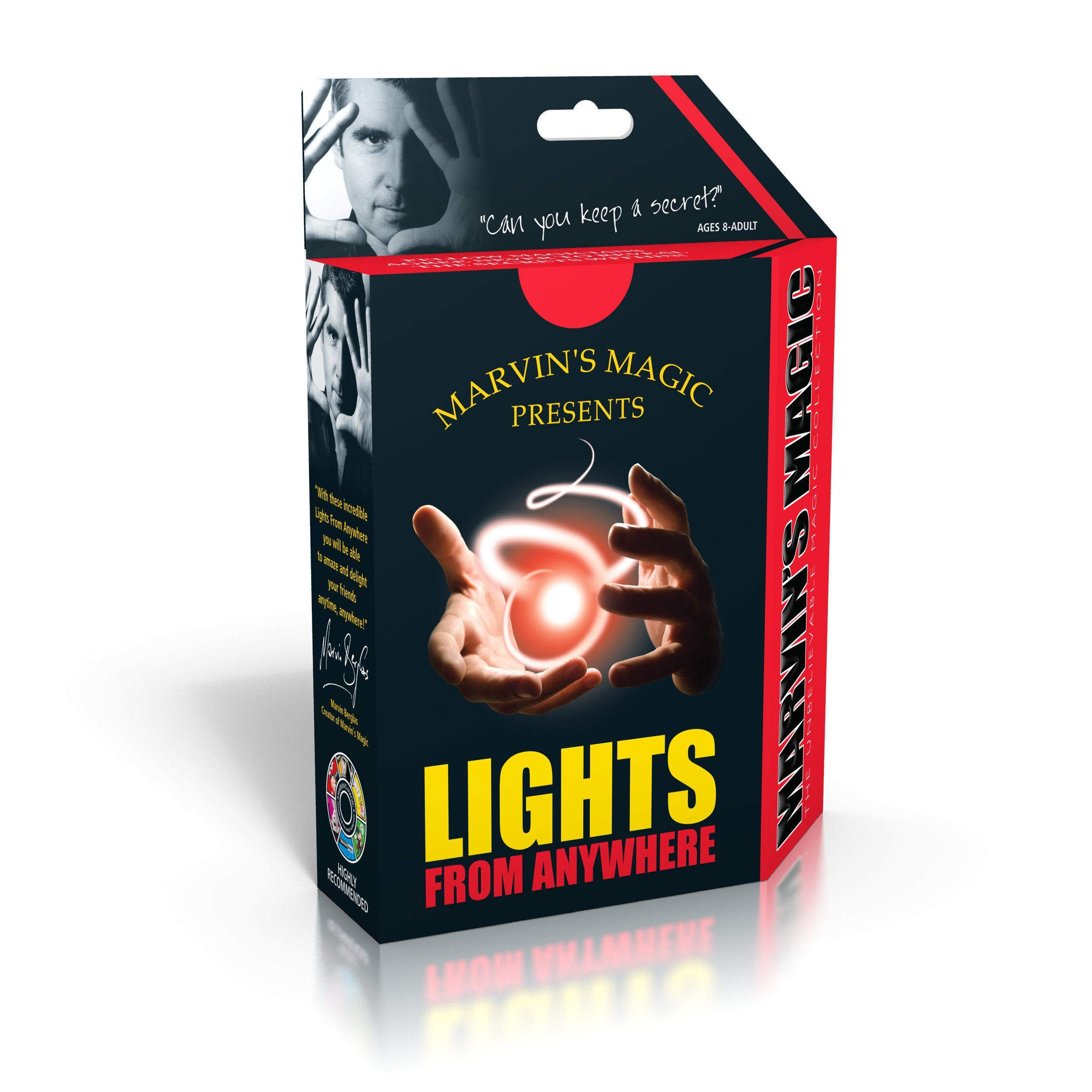 Marvin's Magic - Amazing Lights From Everywhere - Junior Edition | Amazing Magic Set For Kids | Includes Light Props and Instructions | Suitable for Ages 8+