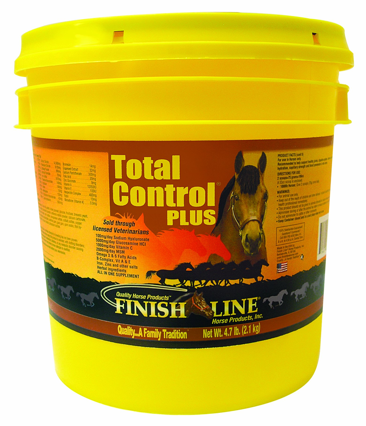 Finish Line Horse Products Total Control Plus (9.3-Pounds)