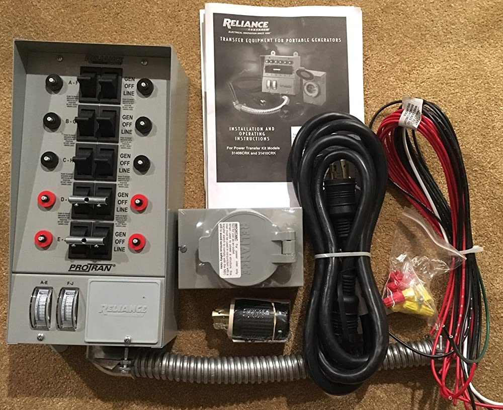 Portable Generator Transfer Switch The Guide For 2020