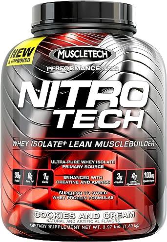 Muscletech Nitro Tech Performance Series - 1,8 kg Milk Chocolate