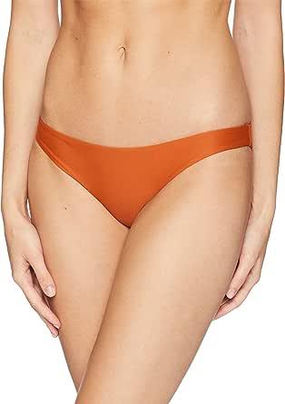 Hurley Women's Quick Dry Compression Solid Bikini Bottom