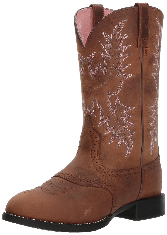 Ariat Women's Heritage Stockman Western Boot B004CTLS5G 9 C US|Driftwood Brown/ Driftwood Brown