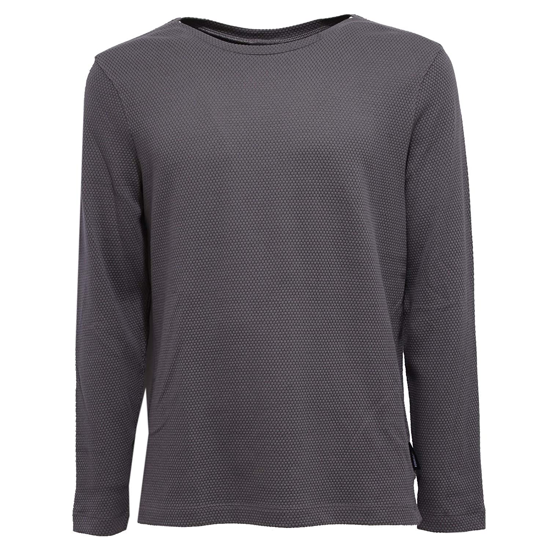 Emporio Armani 8838X Felpa  Herren Grau Cotton Sweatshirt Man