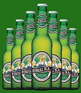 St. Pauli Girl Non-Alcoholic Beer, 12 fl oz (24 Glass Bottles)