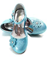 ELSA & ANNA® Buona Qualità Ultimo Design Ragazze Principessa Regina delle Nevi Gelatina Partito Scarpe sandali FR112