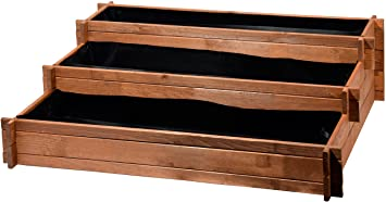 Dobar Drei Etagen Hochbeet Peru Aus Holz Kiefer Tischbeet