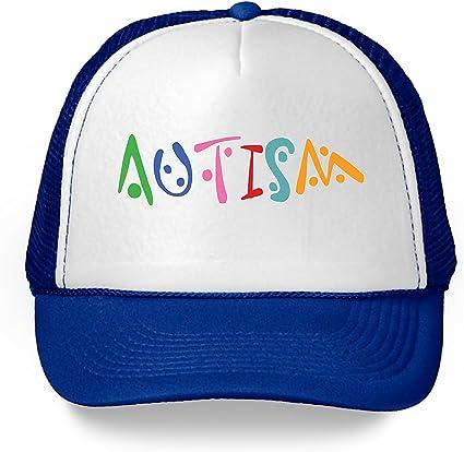 Men Women Baseball Cap Adjustable Support Autism Awareness Logo Art