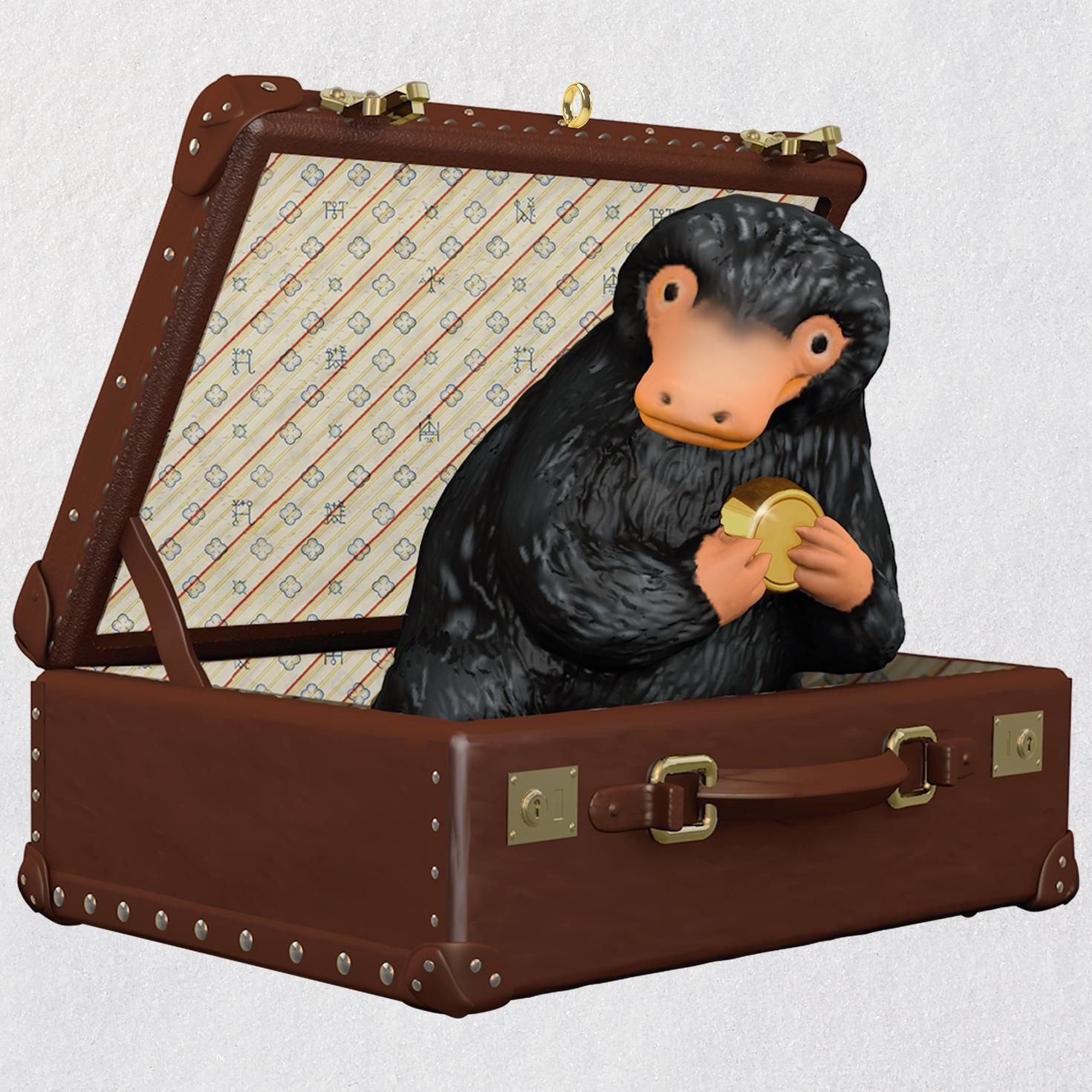 Hallmark Fantastic Beasts and Where to Find Them Newt Scamander's Niffler Ornament keepsake-ornaments Movies & TV