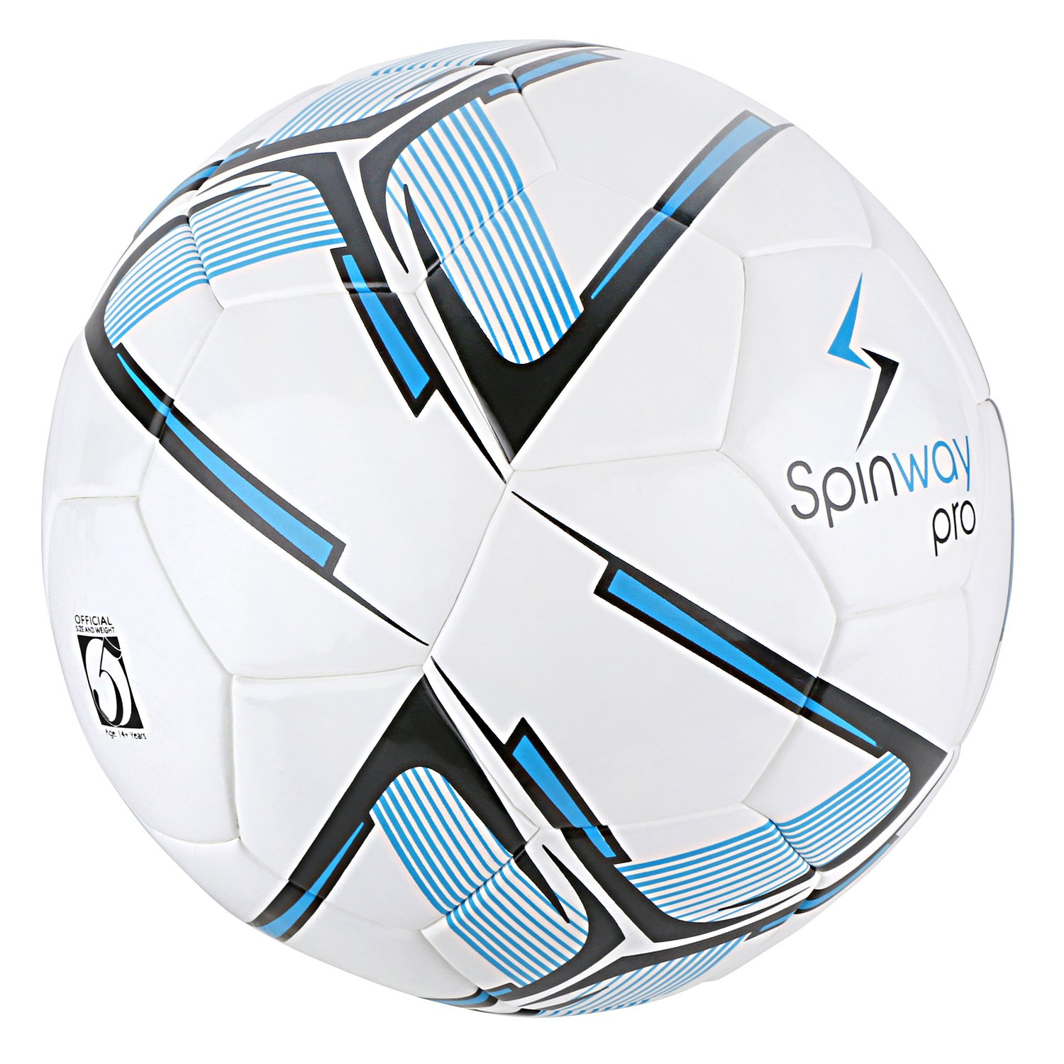 Spinway Football Pro Sw-500 for Professional Play,Water Resistant | (Blue) by Spinway (Image #2)