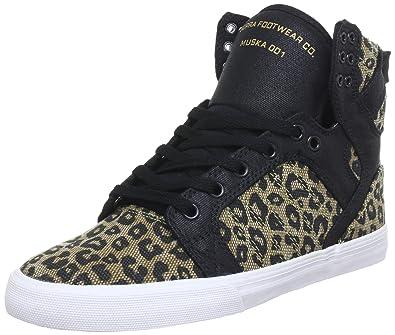 Supra Wmns Muska Skytop Black Cheetah White 42 IwZQ6Mct