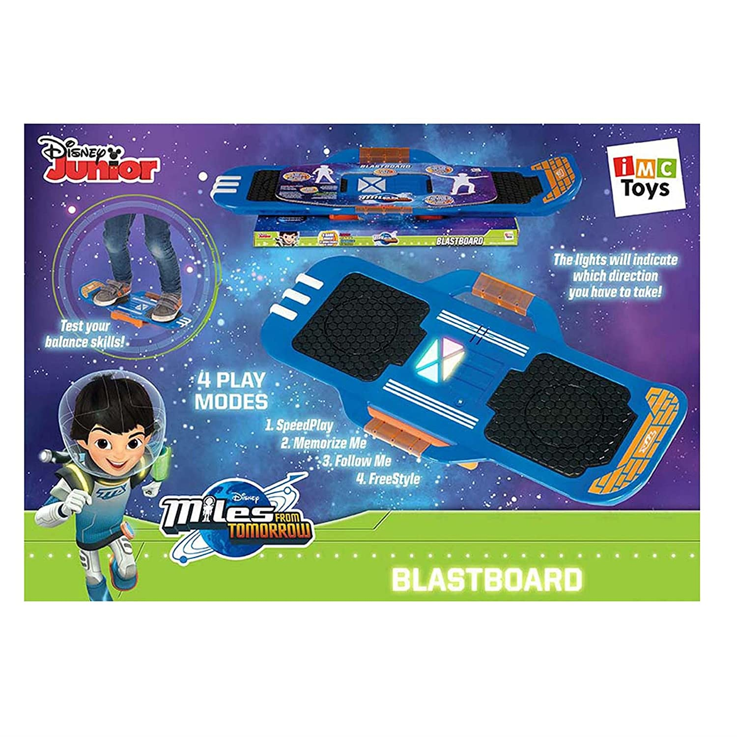 Film- & TV-Spielzeug Disneys Miles From Torrow Miles Blastboard IMCToys 481169