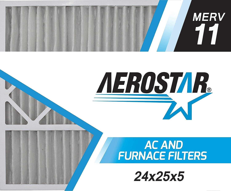 Lennox Replacement Pleated Air Filter Box of 2 16x28x6 Aerostar 16x28x6 MERV 8