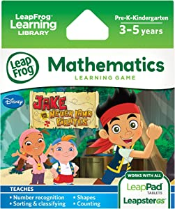 LeapFrog Disney Junior Jake and the Never Land Pirates Learning Game