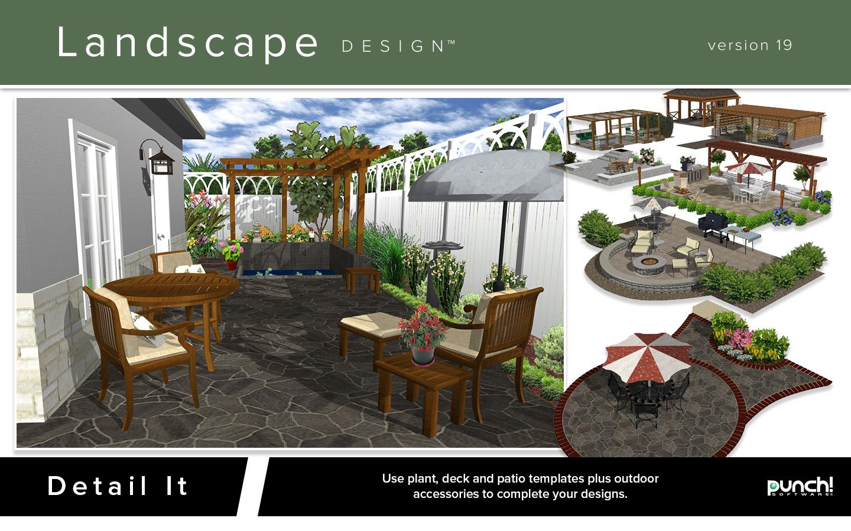 Punch landscape design for mac v19 download hardware for Software progettazione esterni