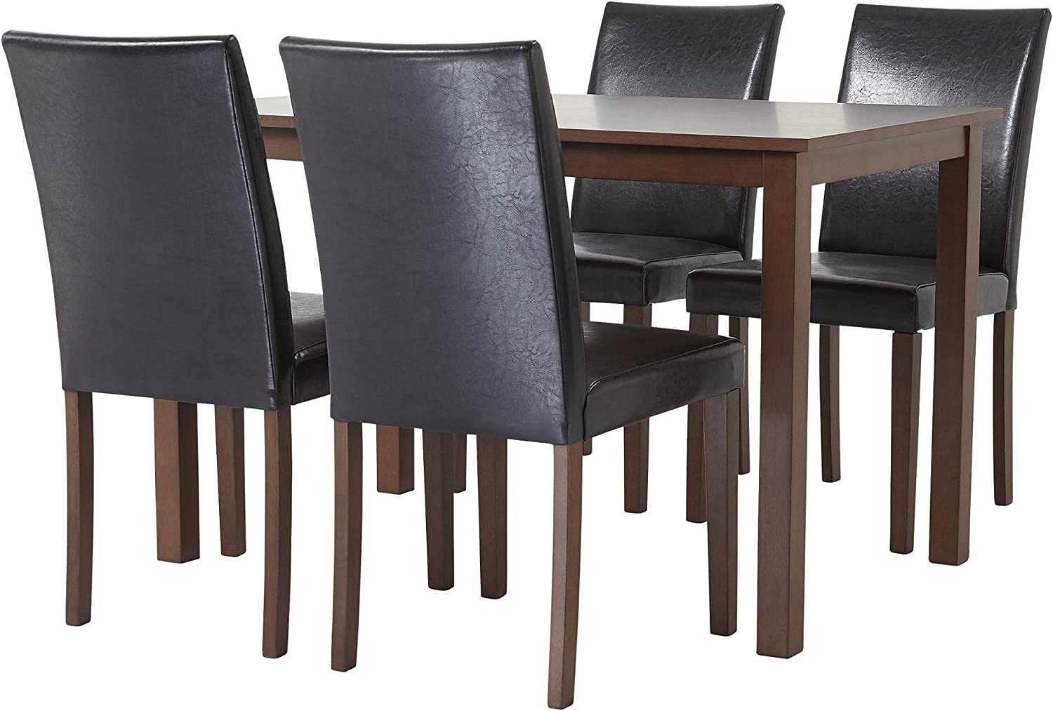 Tesco NEW Claydon Walnut Effect 11 Seat Dining Table & Chair Set - Chocolate