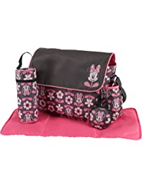 5419f4bcf4f7 Disney Minnie Mouse Multi Piece Diaper Bag with Flap