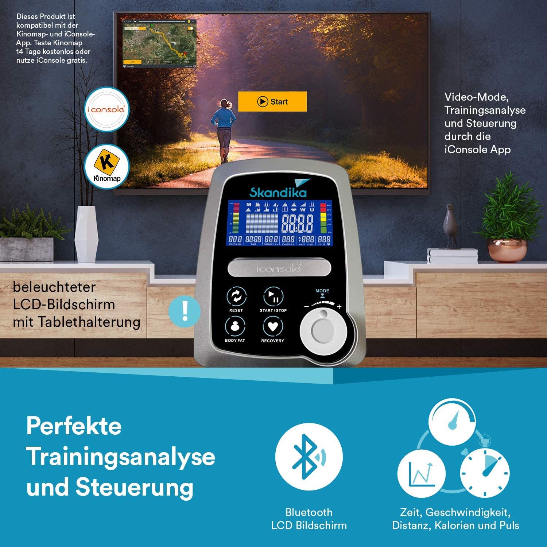 Trainingscomputer mit Bluetooth und LCD Bildschirm