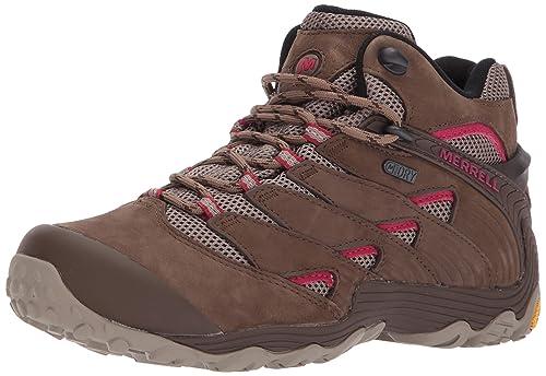 284452744 Merrell Women's Chameleon 7 Mid Waterproof Hiking Shoe