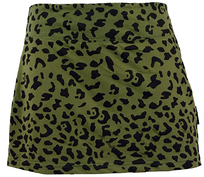 36183ad180 GURU-SHOP, Mini Skirt, Hip Flatterer, Organic Yoga Skirt, Olive, Cotton,  Size:L/XL (14), Short Skirts: Amazon.co.uk: Clothing