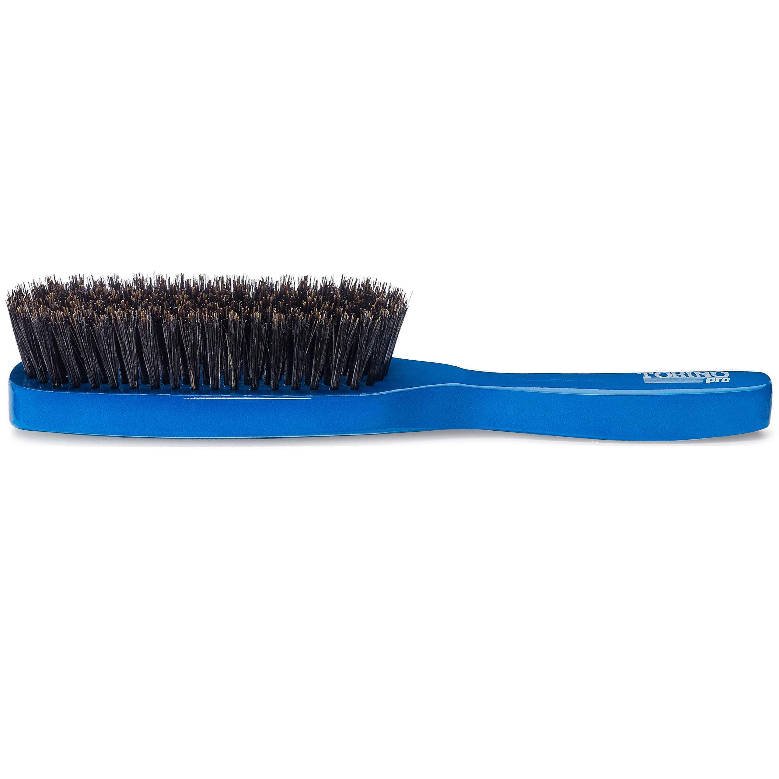 Torino Pro Medium Wave Brush By Brush King - #1850-8 Row Extra Long Bristles- Medium waves brush - Great pull - Great for connections - for 360 waves by TORINO PRO WAVE BRUSHES BY BRUSH KING (Image #5)