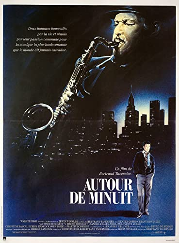 Amazon.com: Round Midnight 1986 French Petite Poster ...
