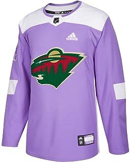 df2ba8ee adidas Minnesota Wild NHL Hockey Fights Cancer Men's Authentic Practice  Jersey