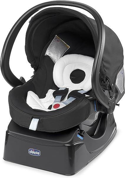 Chicco Auto-Fix Fast, Silla de coche grupo 0+ Isofix, negro (Night ...