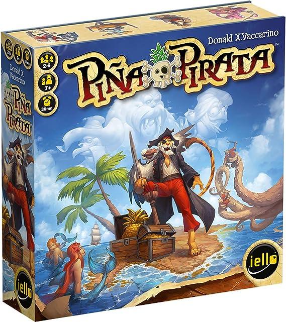 Iello Pina Pirata Board Game: Amazon.es: Juguetes y juegos